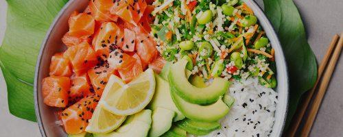 Sushi Poke Bowls