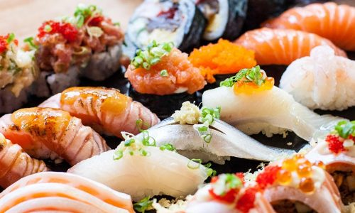Sushi Bar Entrées