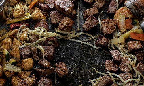 Teppan Chicken & Steak Entrees