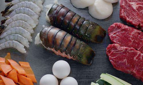 Teppan Seafood Entrees