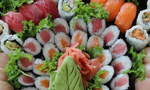 Sushi Bar Entrees