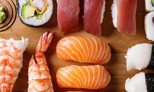 Sushi Entrees